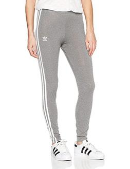 adidas Originals Women's 3-Stripes Leggings, Medium Grey Hea