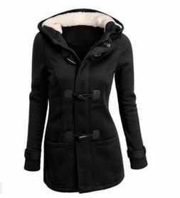 6XL Hooded Winter Parka Plus Size <font><b>Women</b></font>