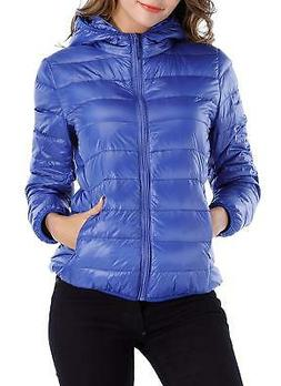 Sarin Mathews Womens Packable Ultra Lightweight Down Jacket