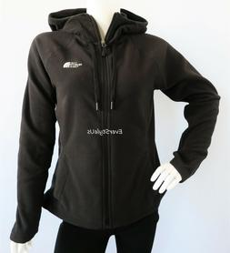 THE NORTH FACE Women's Tundra Black Fleece Hoodie Jacket 100