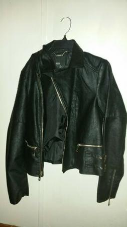 Ana  Faux Leather Jacket Size Medium brand new without tags