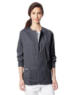 Cherokee Core Stretch Zip Jacket - Pewter XL, Pewter