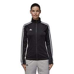 adidas Women's Designed-2-Move Track Jacket, Black/White, Sm