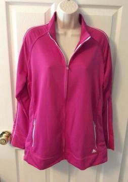 adidas Golf Women's XL 3-Stripes Piped Jacket Coat Bahia Mag
