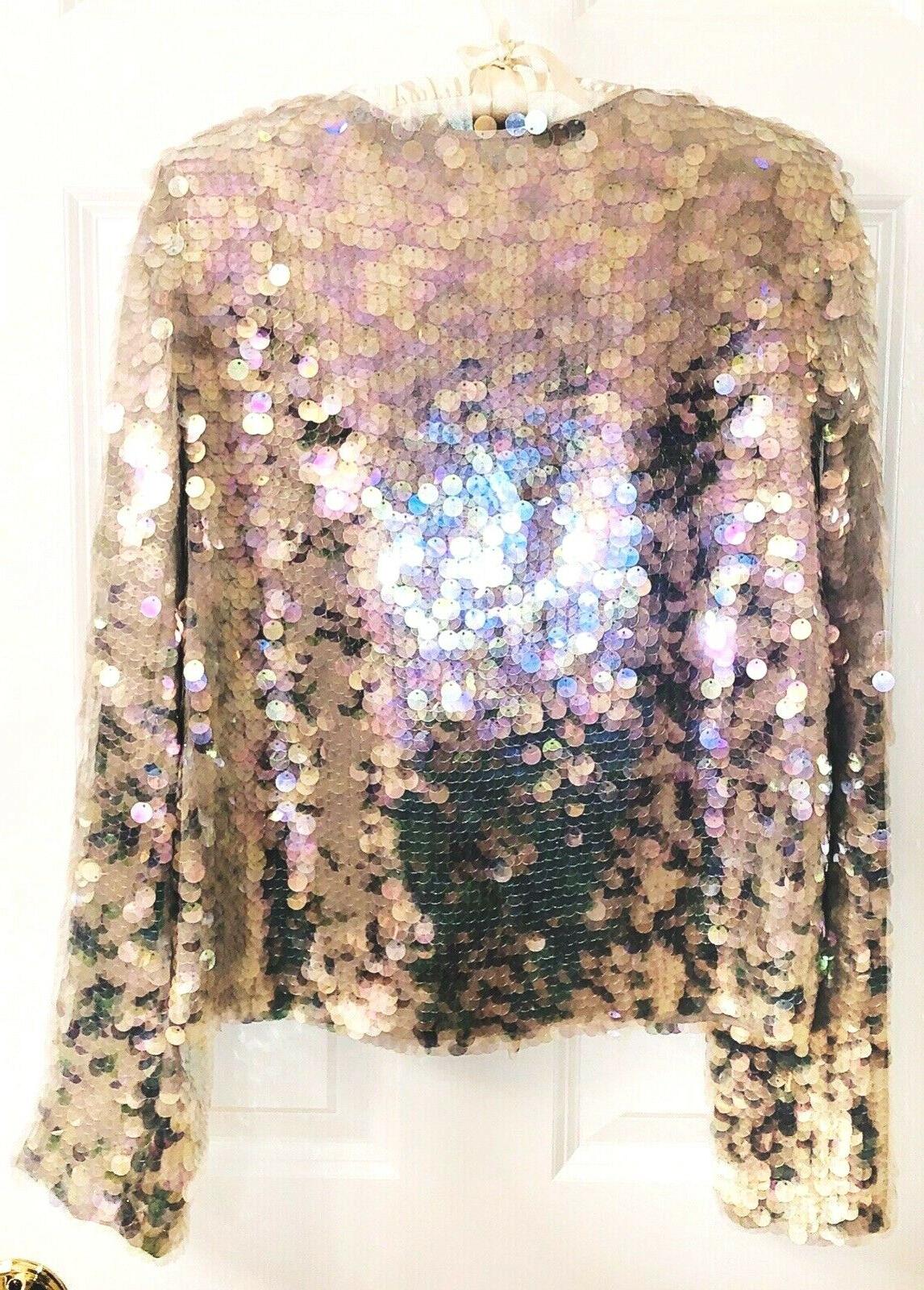 DVF SEQUIN JACKET 0
