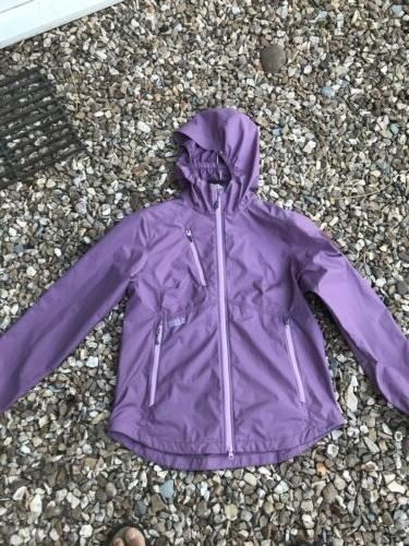 5.11 WOMEN'S CASCADIA WINDBREAKER JACKET Lilac size Small 10