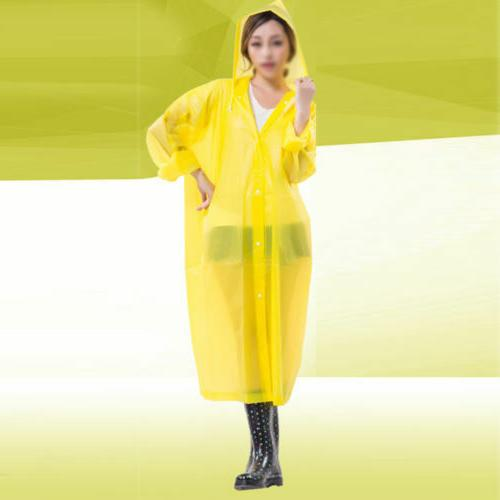 Newly Women Waterproof Jacket Impermeable Cape Poncho