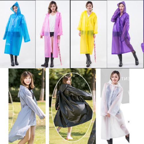 Newly Raincoat Waterproof Jacket Rain Hood Impermeable Cape