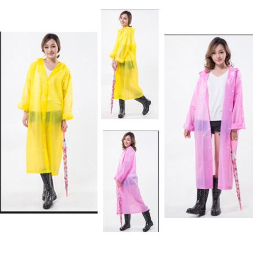 Newly Women Jacket Rain Coat Impermeable Cape