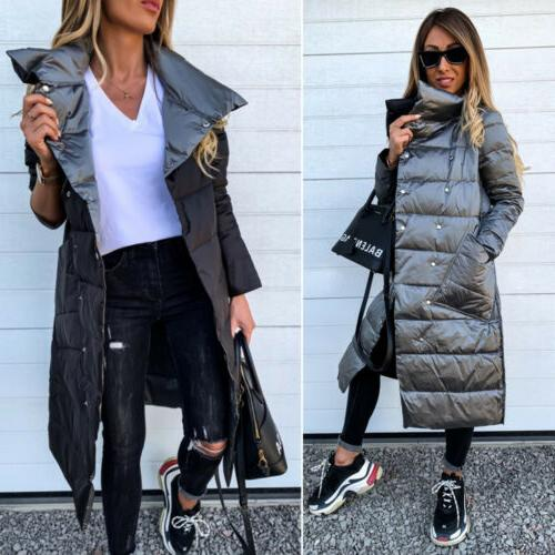 Women's Fit Casual Parka Coat Tops