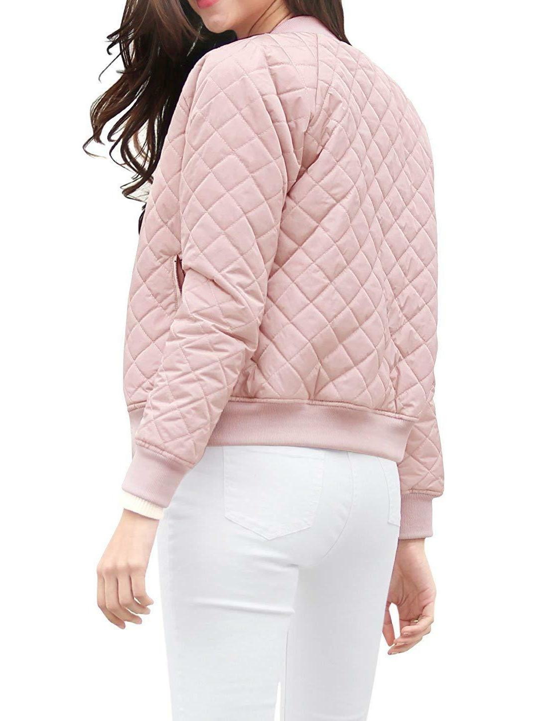Sleeves Quilted Bomber