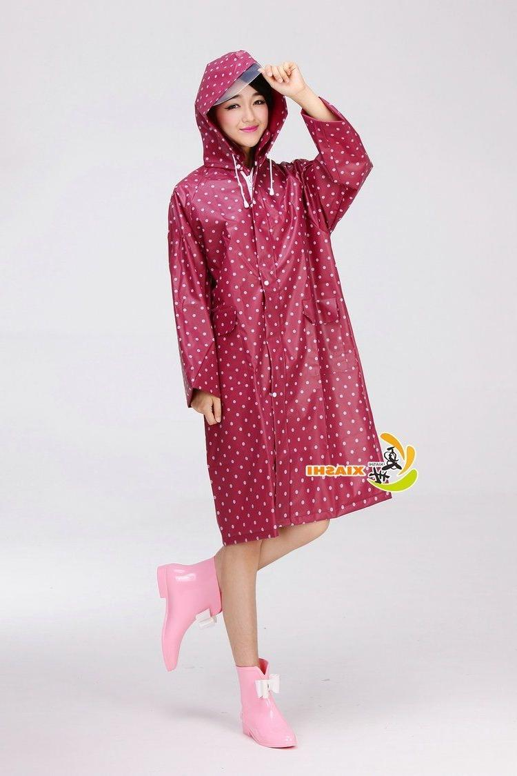 Beautiful Women's Raincoat