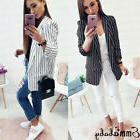 Casual Slim Solid Suit Blazer Coat Jacket Outwear Women Cand
