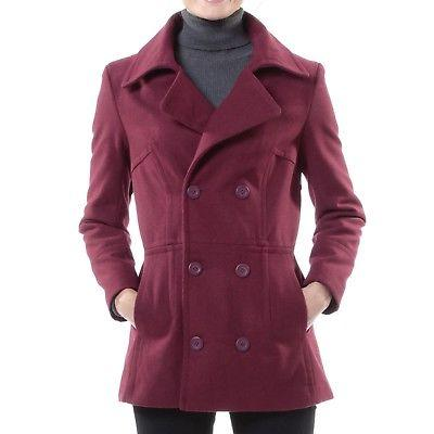 Alpine Swiss Peacoat Double