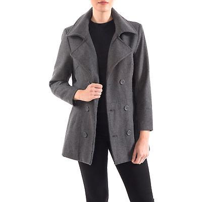 Alpine Swiss Womens Peacoat Blazer Double Breasted