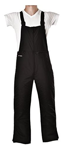 Arctix Men's Essential Bib Overall, Black, 5X-Large/Regular
