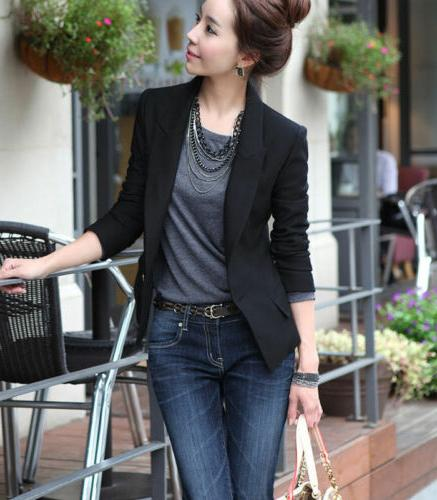 Fashion Slim Blazer Suit