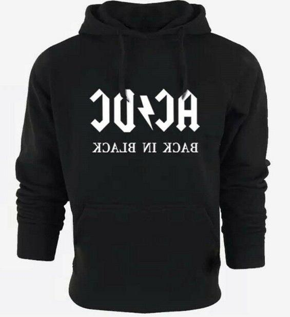 HOT Fashion The ACDC Mens Women's  Hoodie Zipper Coat SPRING