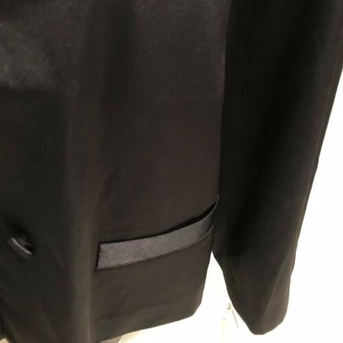 Linea By Louis Jacket Button Pleated Back Women Brand New