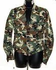 NEW Free People Women's Camouflage Casual Military Light Jac