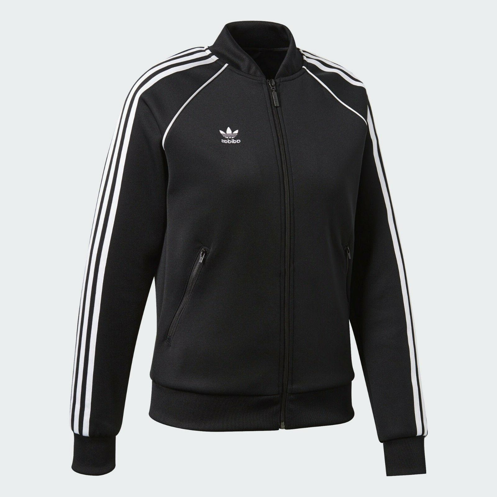 ADIDAS ORIGINALS SUPERSTAR WOMEN'S TRACK JACKET US SIZE S ST