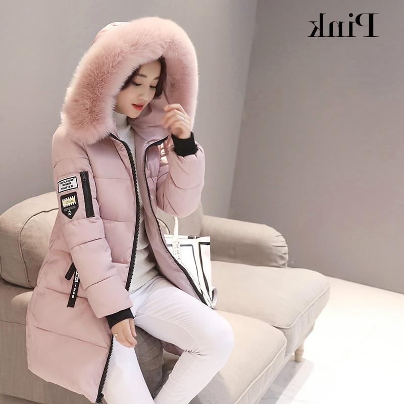 Parka <font><b>Women</b></font> 2019 Winter Coats Fur Thick Winter Parkas Female Coat
