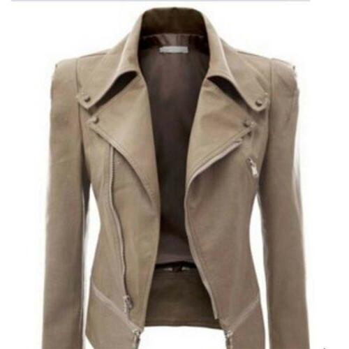 Women's Fit Biker Jacket Casual