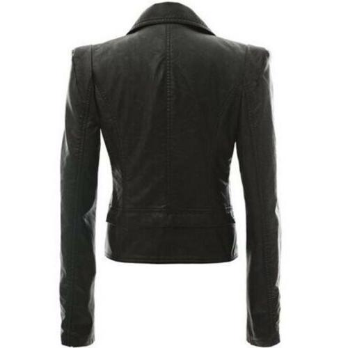 Women's Slim Biker Winter