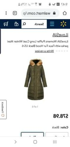 ilovesia Winter coat women with hoodie stylish puffer jacket