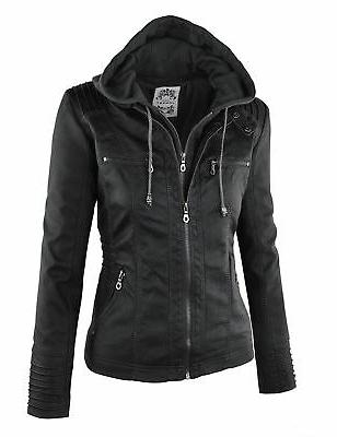 Made By Womens Removable Jacket