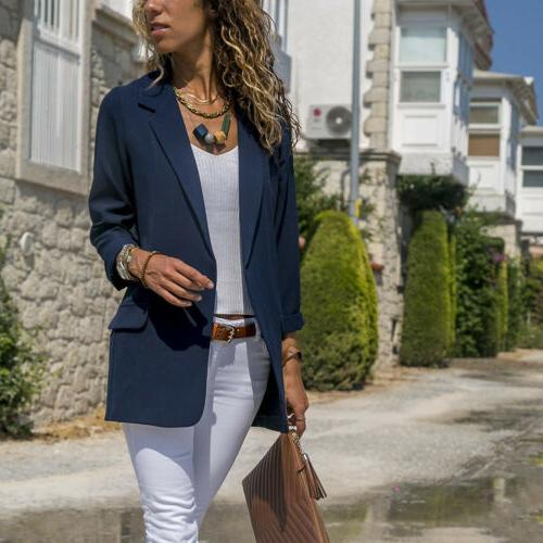 Women Fashion Casual Business Jacket Outwear
