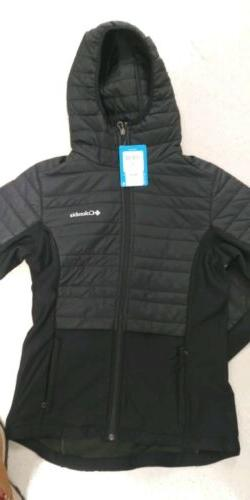 COLUMBIA Women's Hybrid Jacket with Hood Size:  Small-NWT