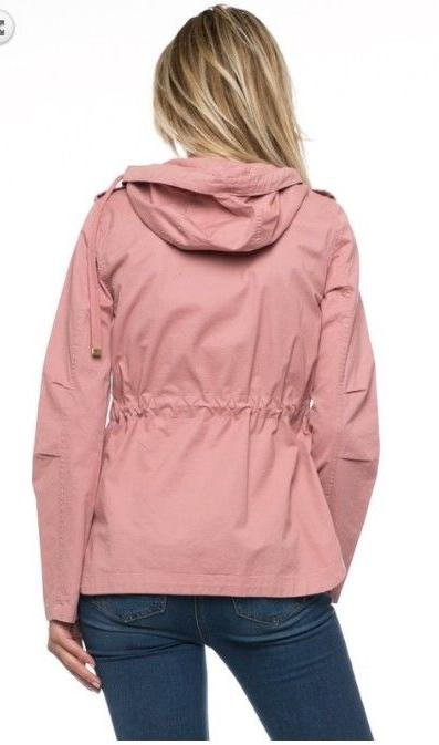 Women's Jacket with Hood Coats