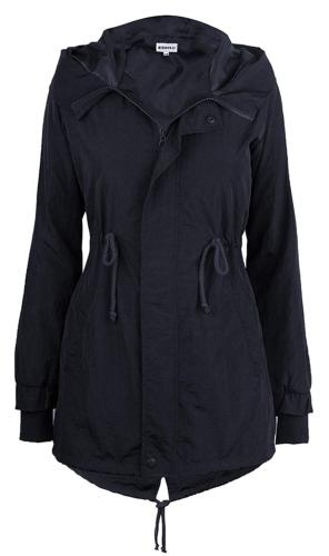 iLoveSIA Women's Military Jacket Rain Repellent Trench with
