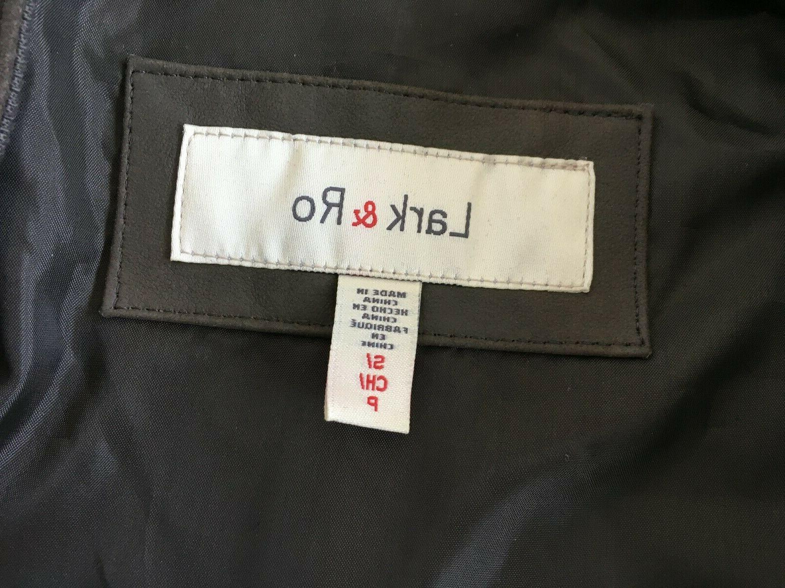 Women's Small Moto Leather NWOT Ro