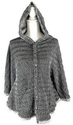 LUCKY BRAND Women's Spring Top Jacket Poncho Hoodie Size XS