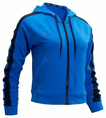 women s transform jacket blue with black
