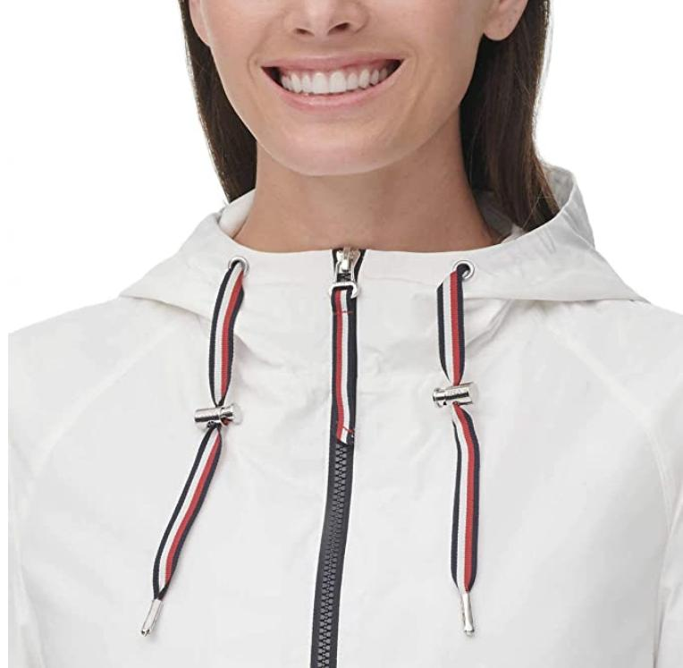 Tommy Hilfiger Women's Windbreaker Jacket Various Colors Sizes