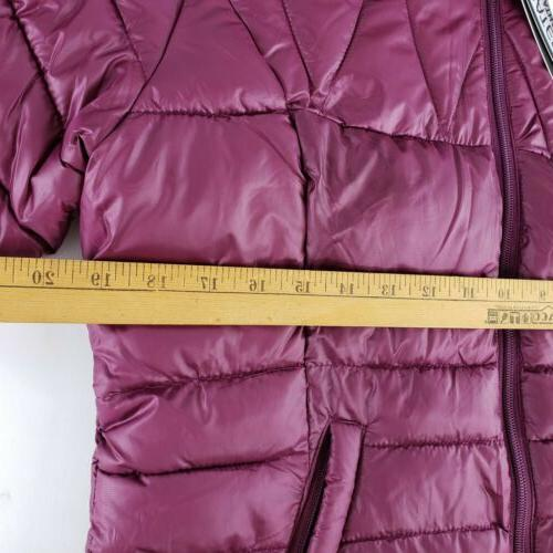 Womens By Nippy Style Puffer Jacket Large