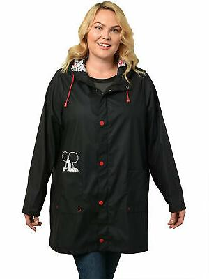 Women's Plus Size Mouse Rain