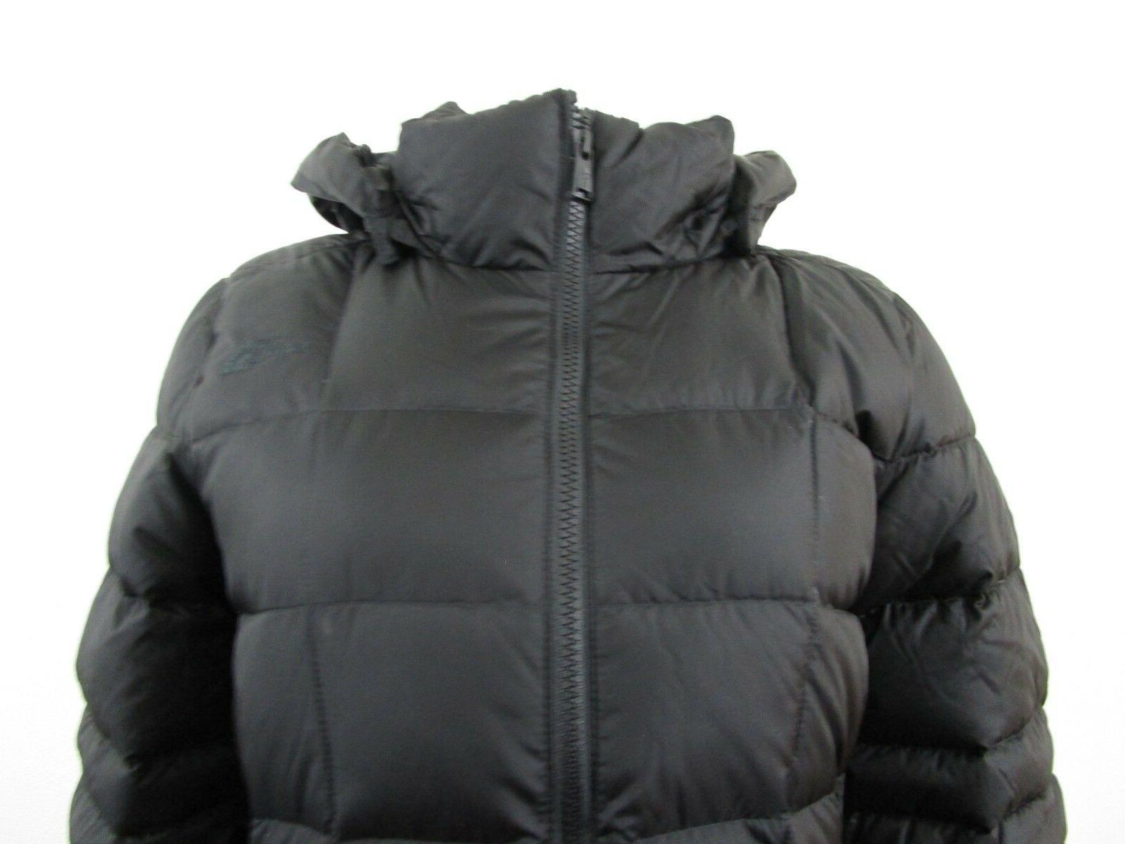 Womens S-M The North Face Long Jacket Black