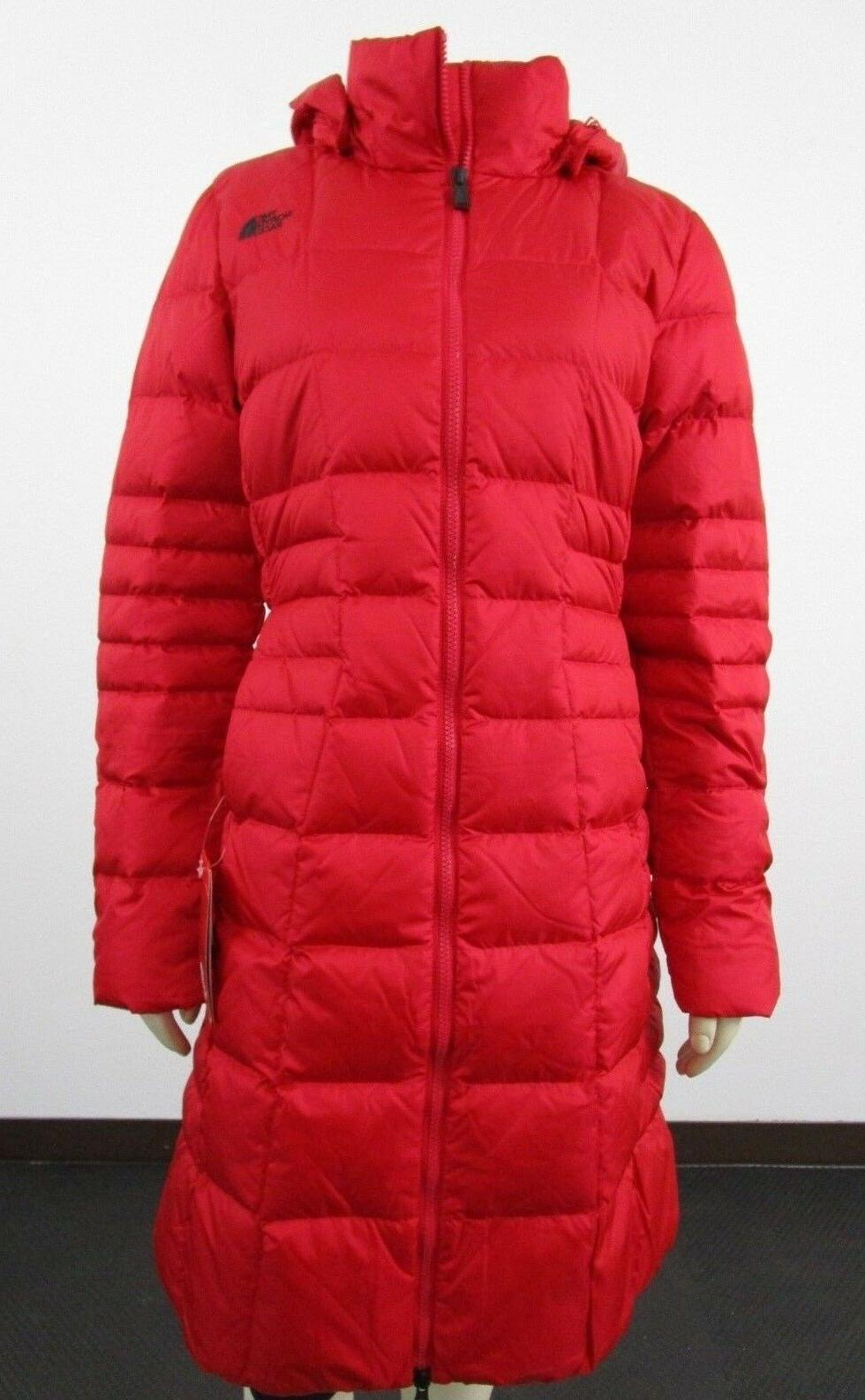 Womens The North Face TNF Metropolis 2 Long Down Parka Warm