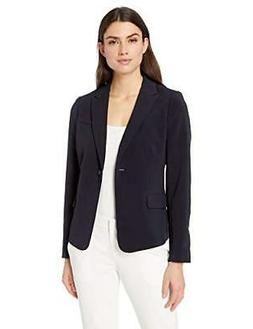 Lark & Ro Women's Classic One Button Blazer - Choose SZ/colo