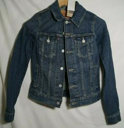 Levi's Womens Classic Trucker Jacket Blue Belle Extra Small