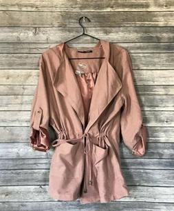 Poetry Lightweight Hooded Jacket Women's Size Large