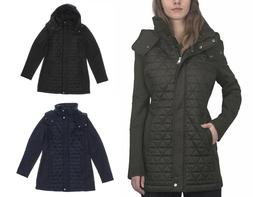 Marc New York Andrew Marc Women's Quilted Hooded Jacket - Ne