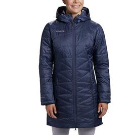 Columbia Women's Mighty Lite Hooded Jacket, Nocturnal, Mediu