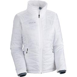 Columbia Mighty Lite III Insulated Jacket - Women's White, L