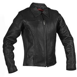 Milwaukee Motorcycle CC Women's Electra Black Leather Jacket