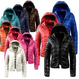 NE PEOPLE Women's Lightweight Padded Puffer Zip up  Quilted